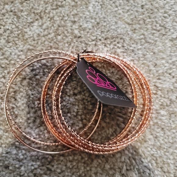 Bronze costume bracelets (old stock)
